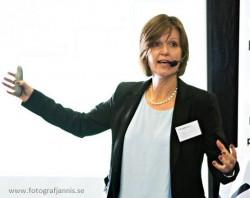Ingrid Alestig, Novasell föreläser