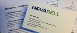 Visitkort Novasell
