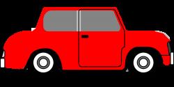 Bil röd