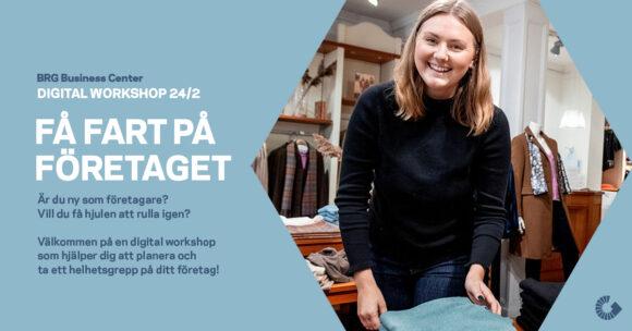 Få fart på företaget Business Region Göteborg