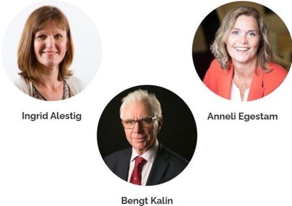 Ingrid Alestig, Bengt Kalin, Anneli Egestam
