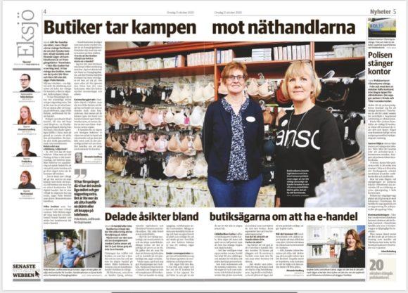 Smålands-Tidningen 201021 E-handel