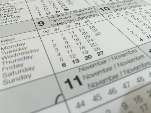 Kalender, det går att boka säljmöten nu