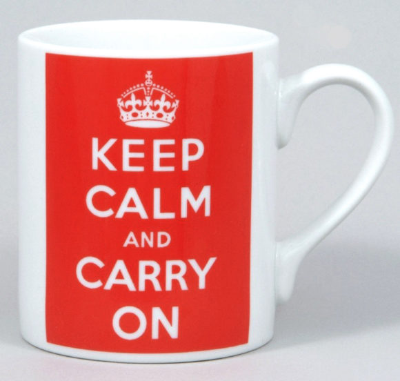 Mugg. Keep calm and carry on